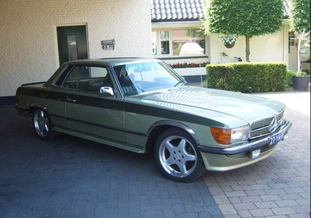 Mercedes Benz 450 Slc Union Jack Vintage Cars
