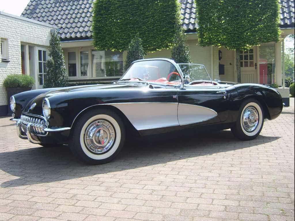 '57 Chevrolet Corvette # E57S10921 - Union Jack Vintage Cars