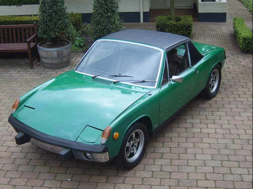 73 Porsche 914 1 7 Targa Union Jack Vintage Cars