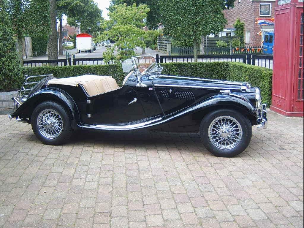55 Mg Tf Union Jack Vintage Cars