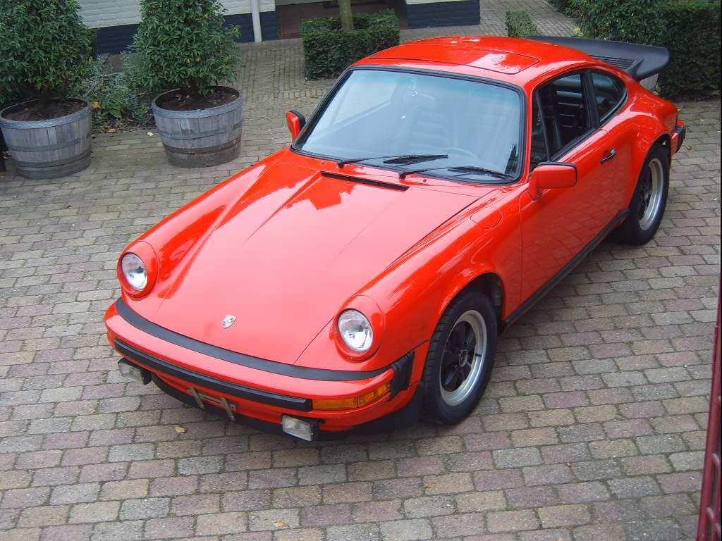 Porsche Sc Rood