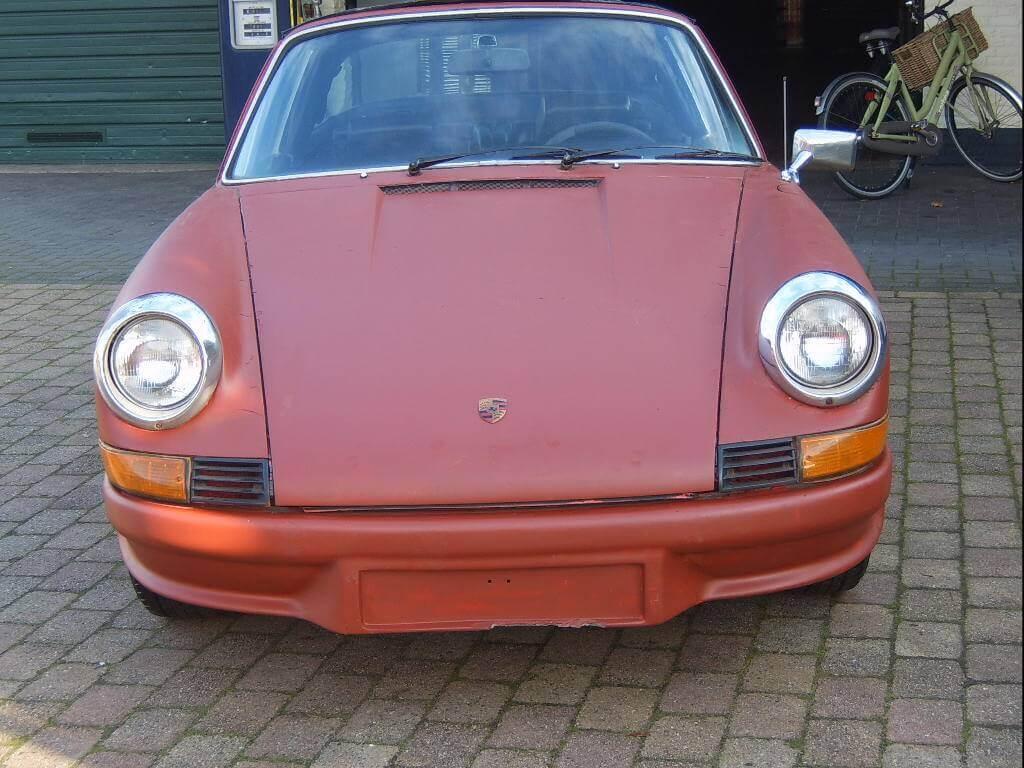 71 Porsche 911 T Targa Union Jack Vintage Cars