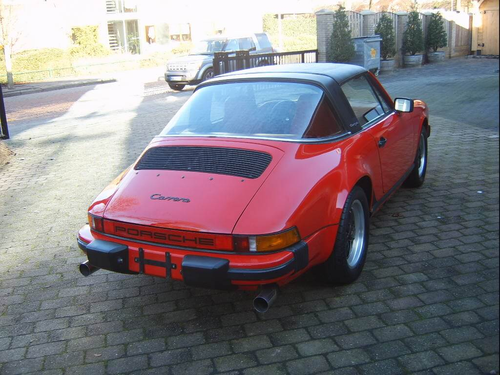 79 Porsche 911 Targa Union Jack Vintage Cars