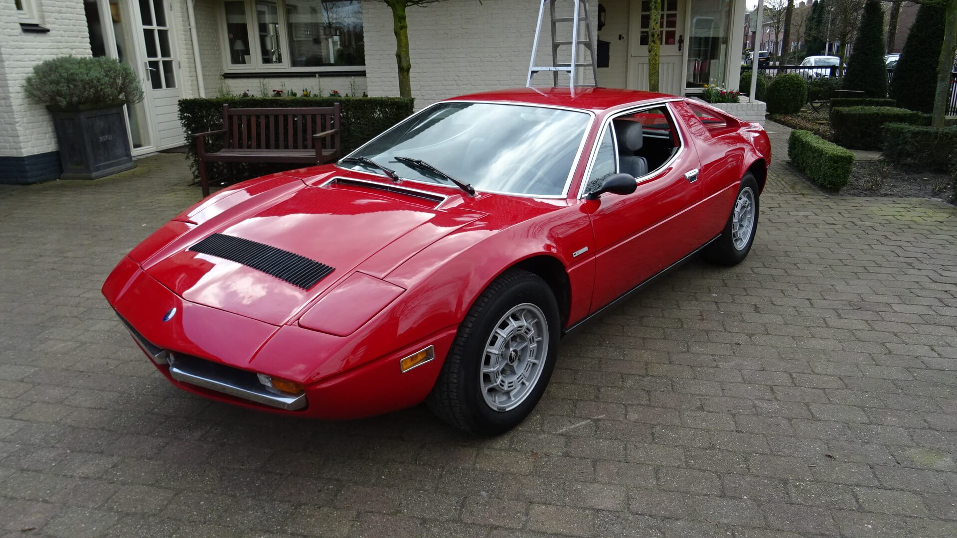Mercedes Benz Parts >> '73 Maserati Merak - Union Jack Vintage Cars