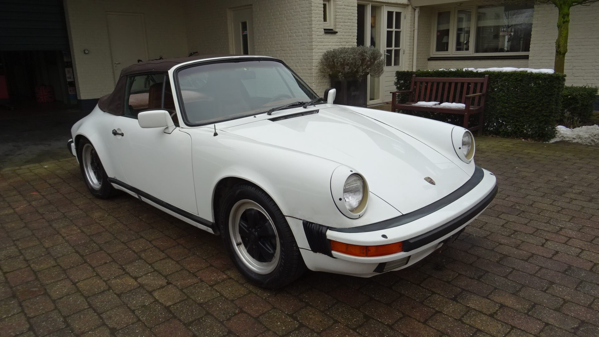 Vintage Vw Parts >> '84 Porsche 911 Carrera Cabrio - Union Jack Vintage Cars