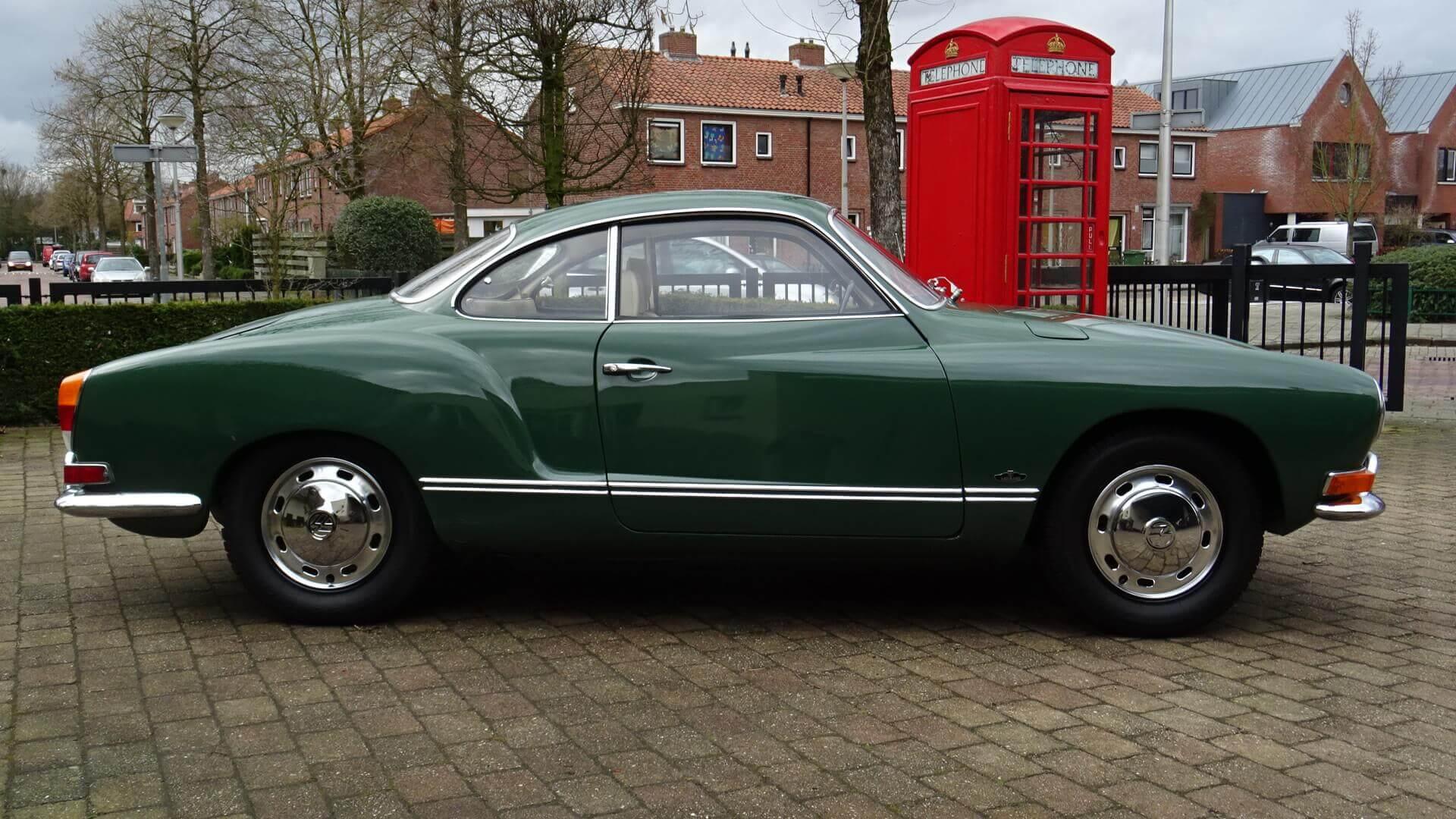 Vw Karmann Ghia Union Jack Vintage Cars 1950 Volkswagen Sold