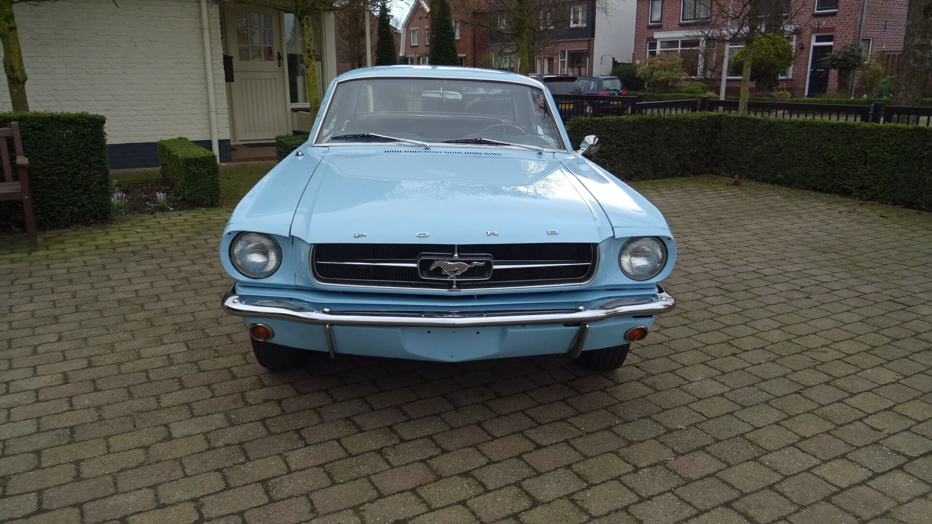 65 ford mustang coupe union jack vintage cars - Ford mustang vintage ...