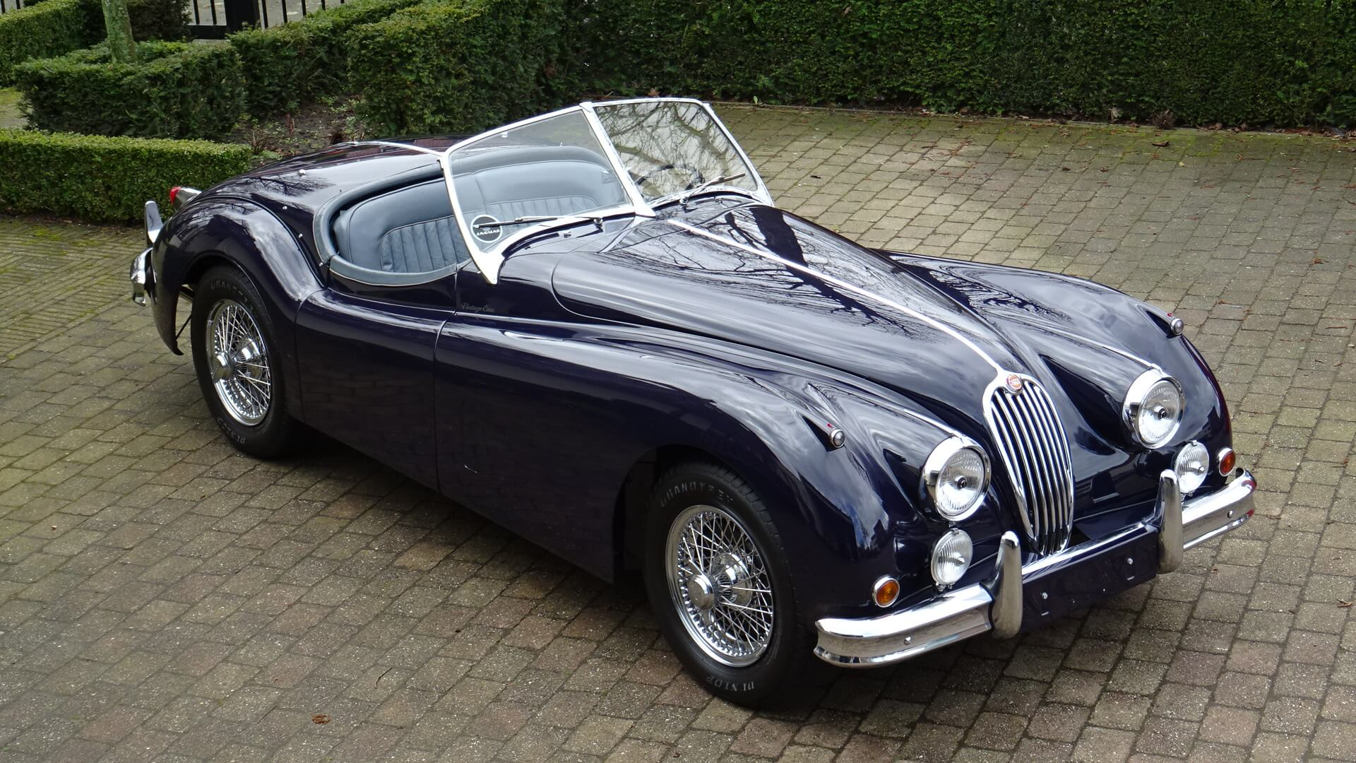 54 jaguar xk 140 ots se union jack vintage cars. Black Bedroom Furniture Sets. Home Design Ideas