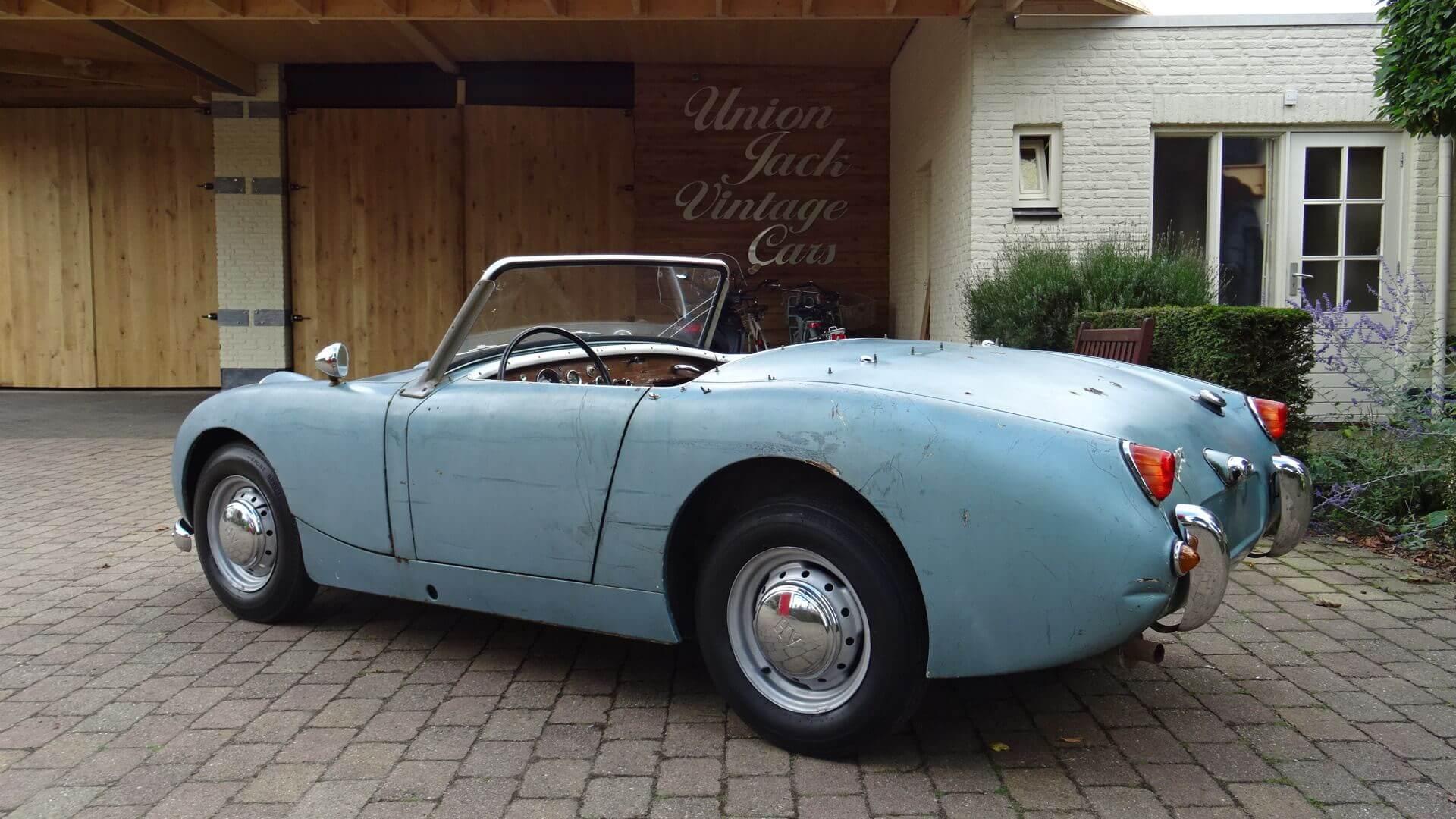 "60 Austin-Healey Sprite MK 1 ""Frogeye"" - Union Jack Vintage Cars"