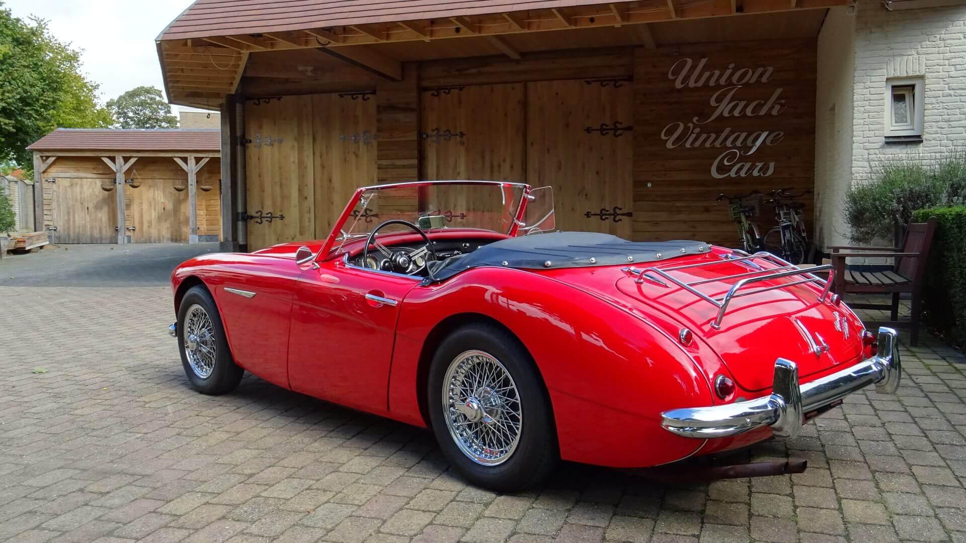 60 Austin-Healey 3000 MK 1 - Union Jack Vintage Cars